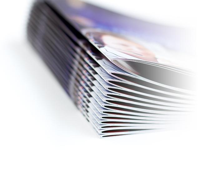 パンフレットの写真