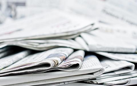 新聞折込チラシの画像